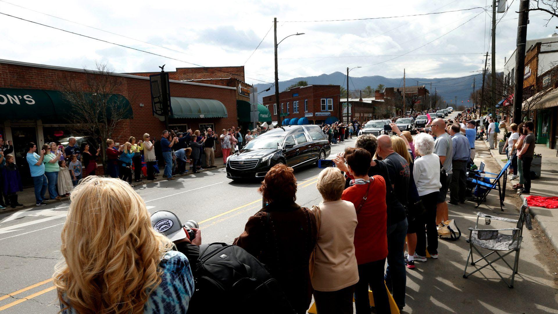 Bill Graham funeral