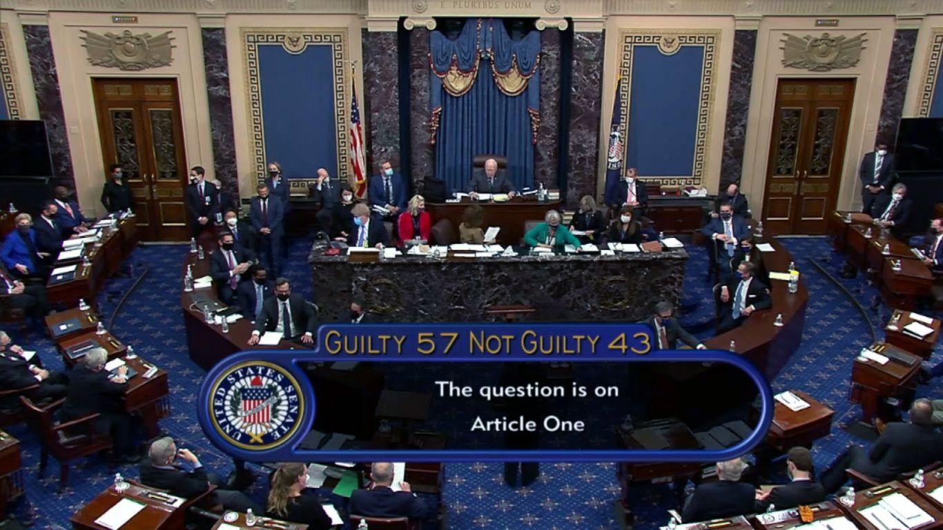 Senate acquits Trump thumbnail