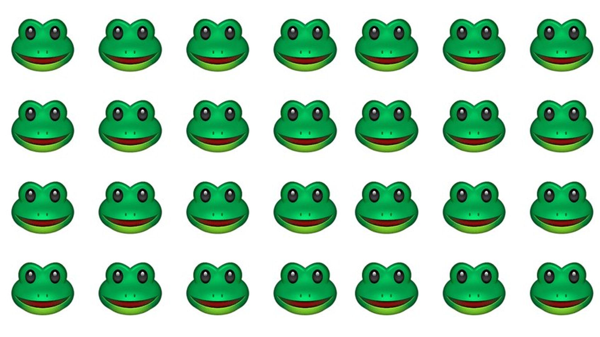The Top Super Bowl Emoji Was An Alt Right Frog Symbol Axios
