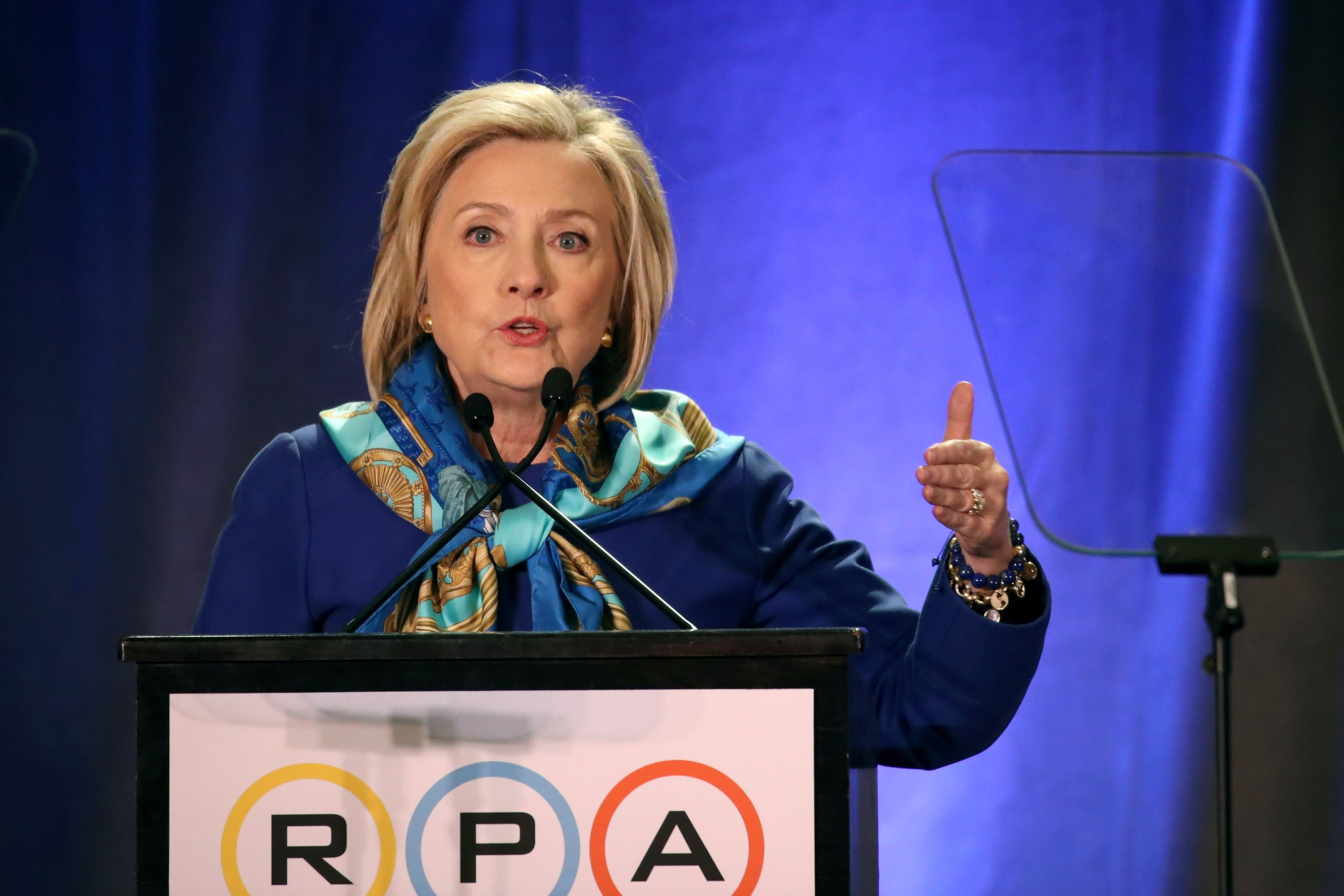 Hillary Clinton: White House is lifting up racist views - Axios