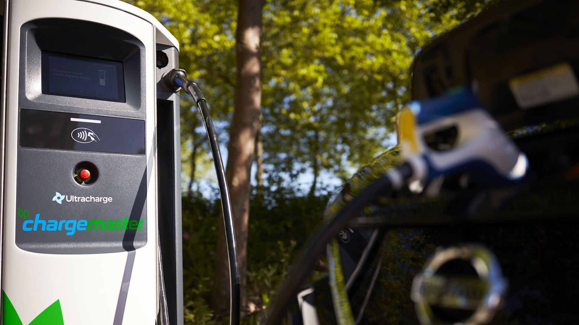 A BP charging station for electric vehicles