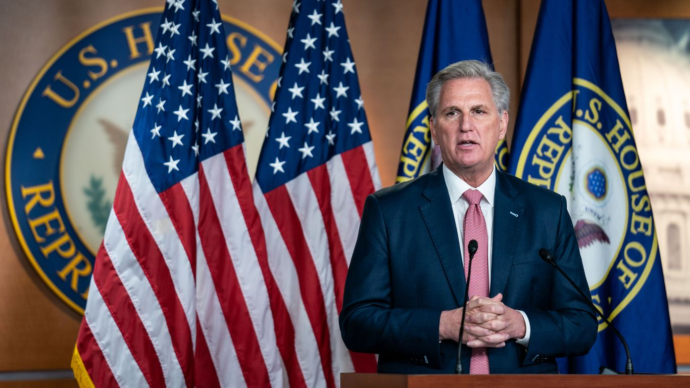McCarthy hires top Trump official to run political operation thumbnail