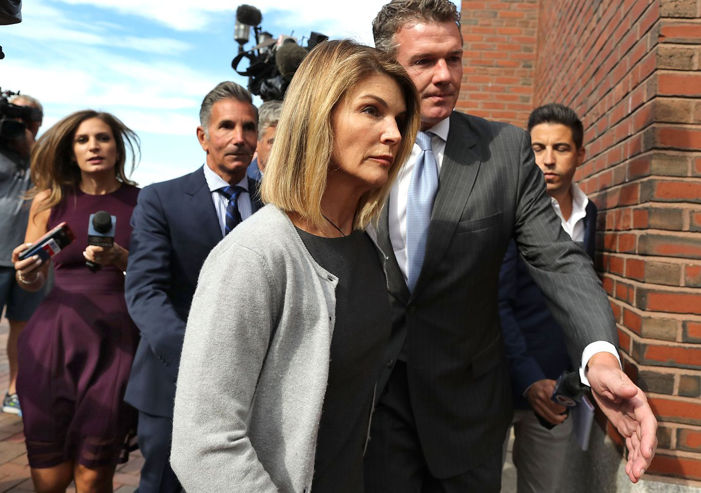 College admissions scandal - cover