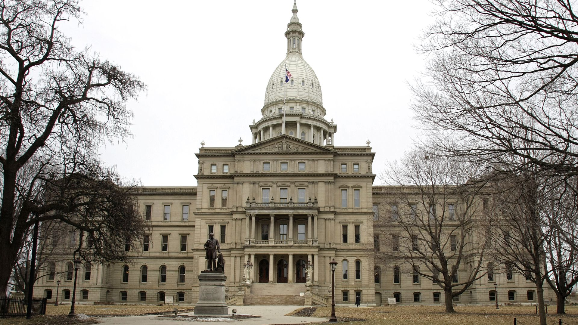 The Michigan State Capital building. Photo: Bill Pugliano/Getty Images