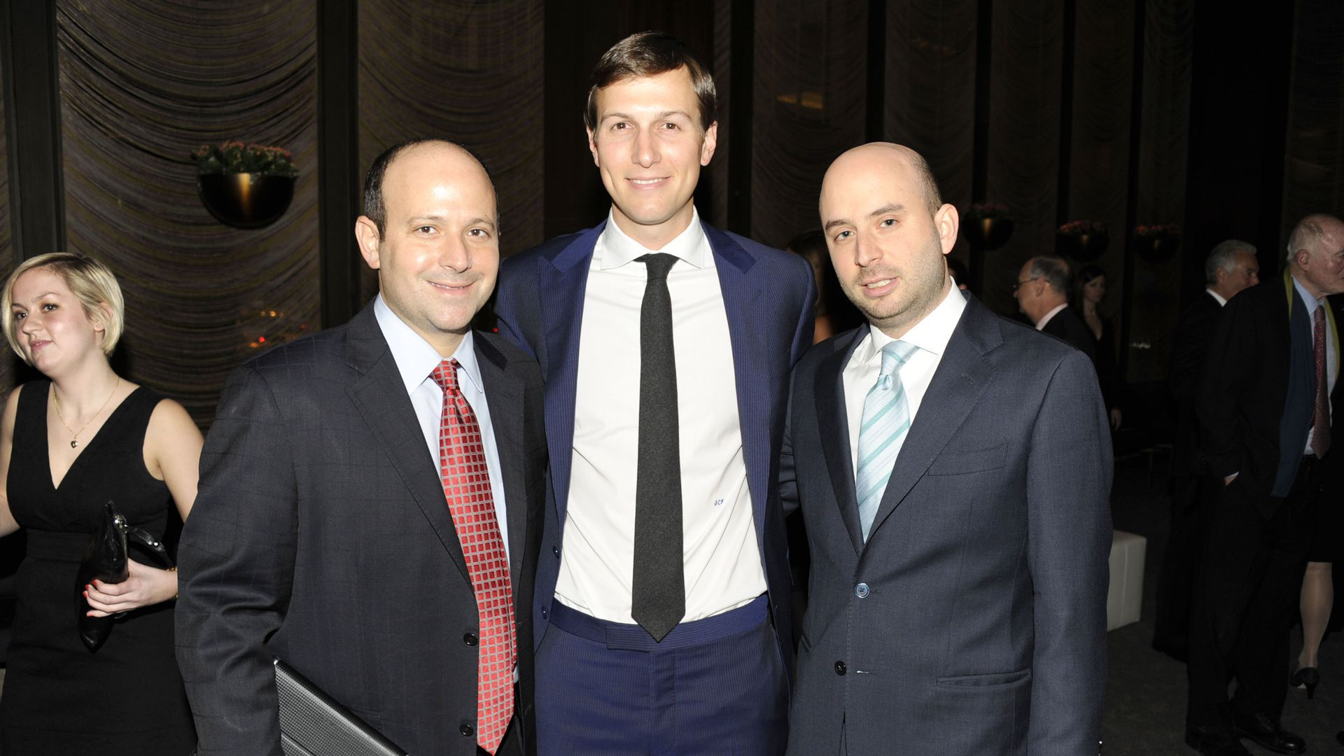 Josh Raffel and Jared Kushner