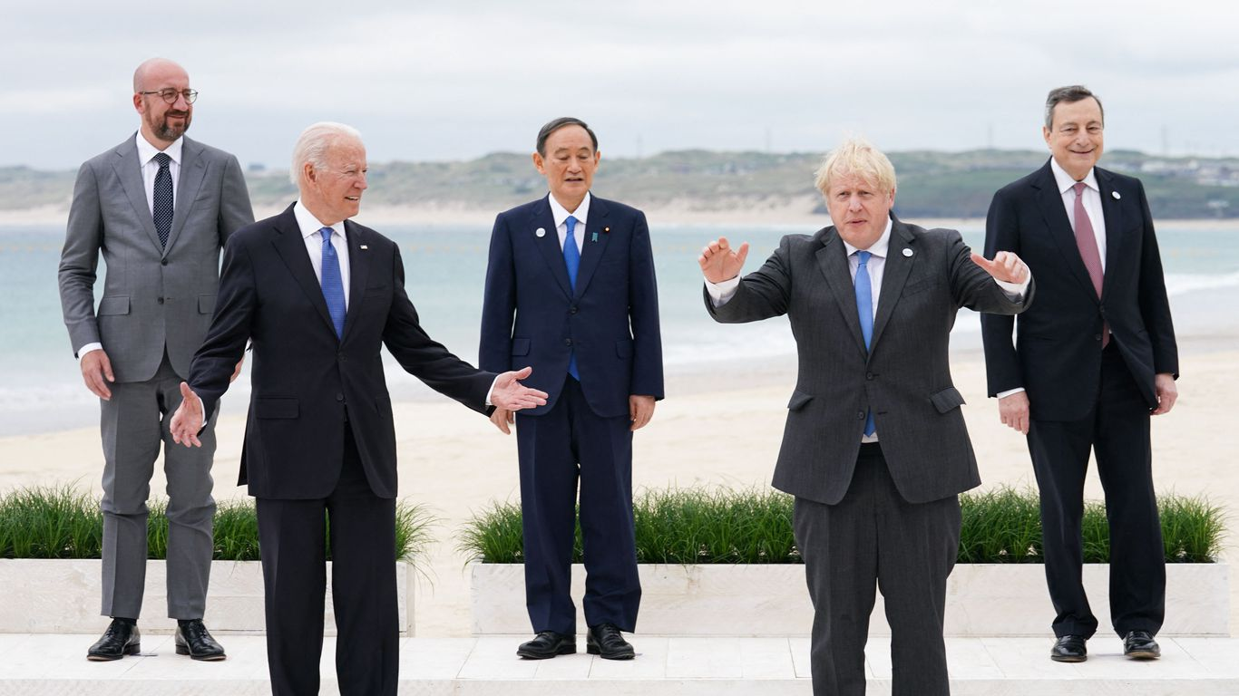 Today marks the first day of the three-day long G7 summit.