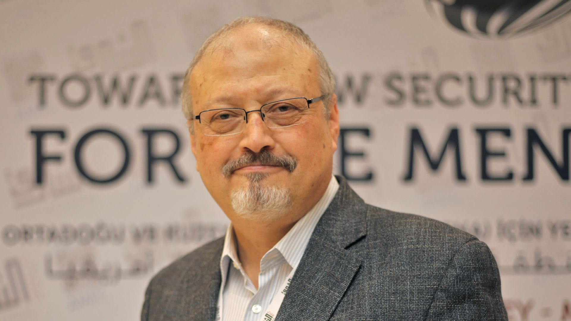 Saudi journalist Jamal Khashoggi in Istanbul, Turkey