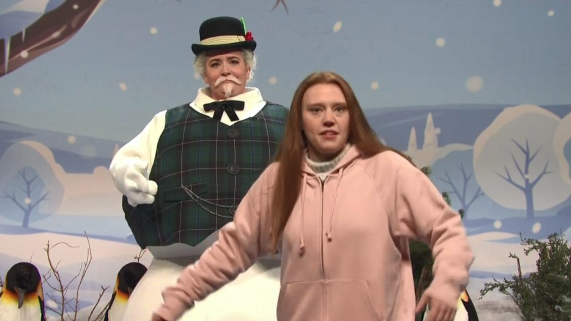 """""""SNL"""" cold open weighs in on Trump and climate activist Greta Thunberg"""