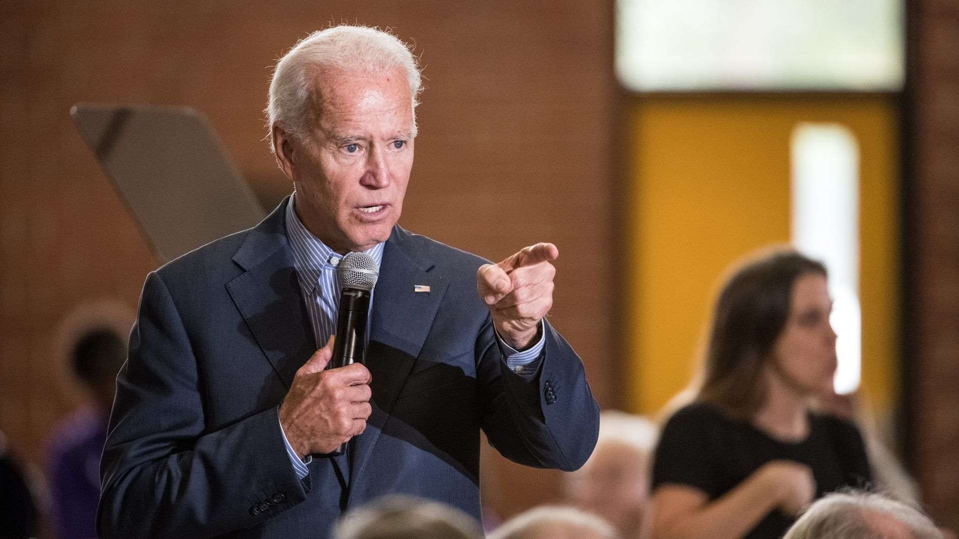 Former Vice President Joe Biden on the 2020 campaign trail in South Carolina