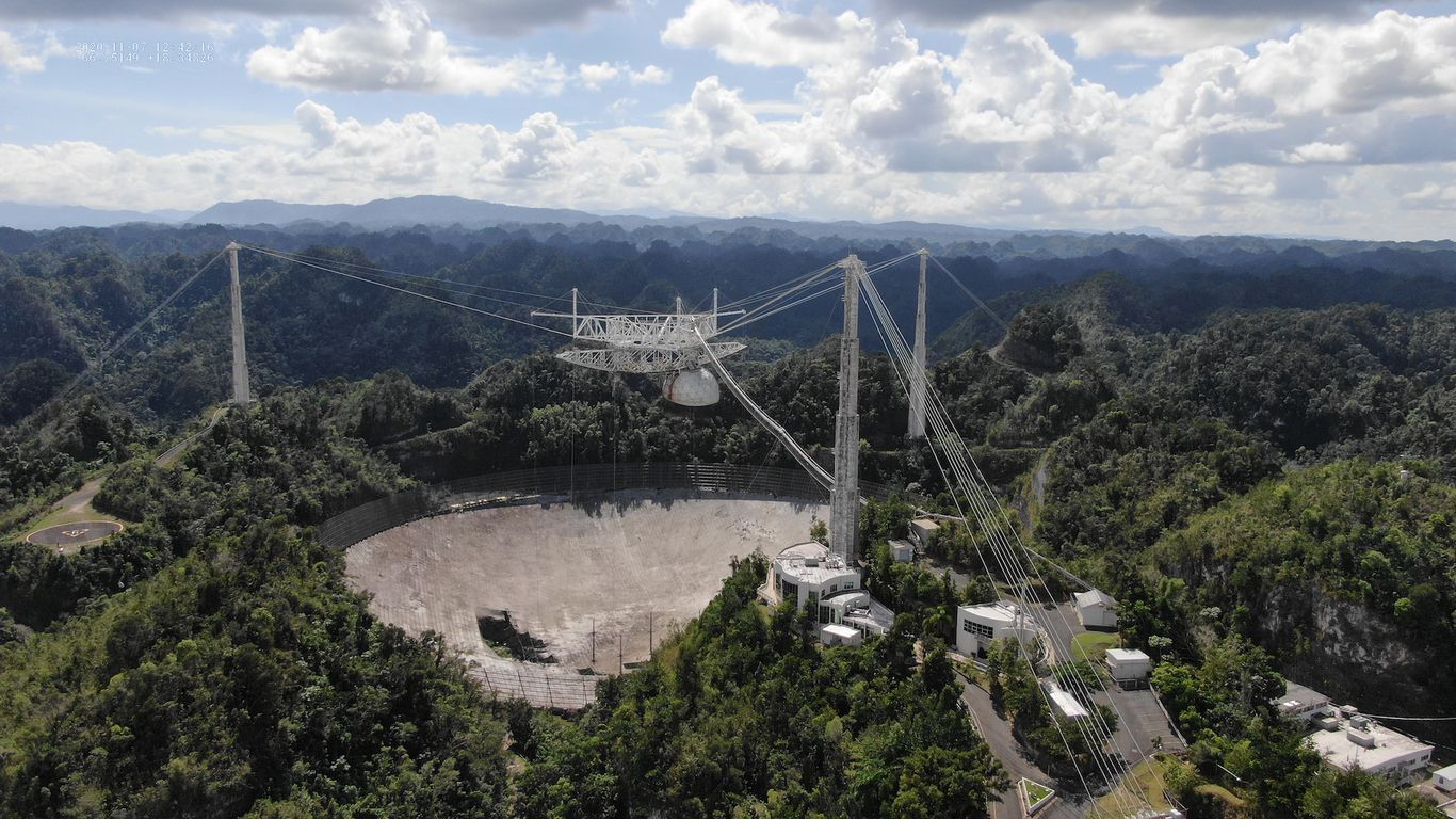 The collapsing Arecibo Observatory is beyond repair