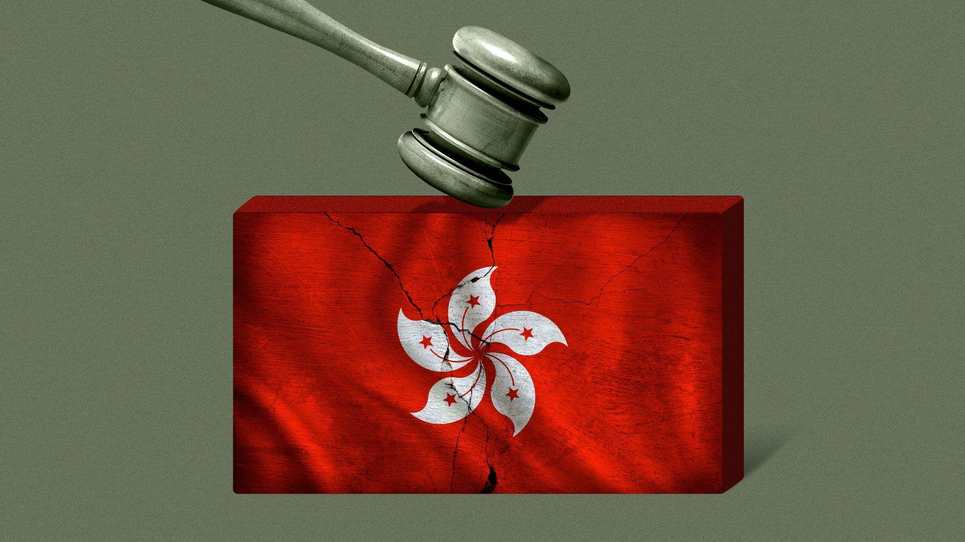High-profile Hong Kong activists face trial