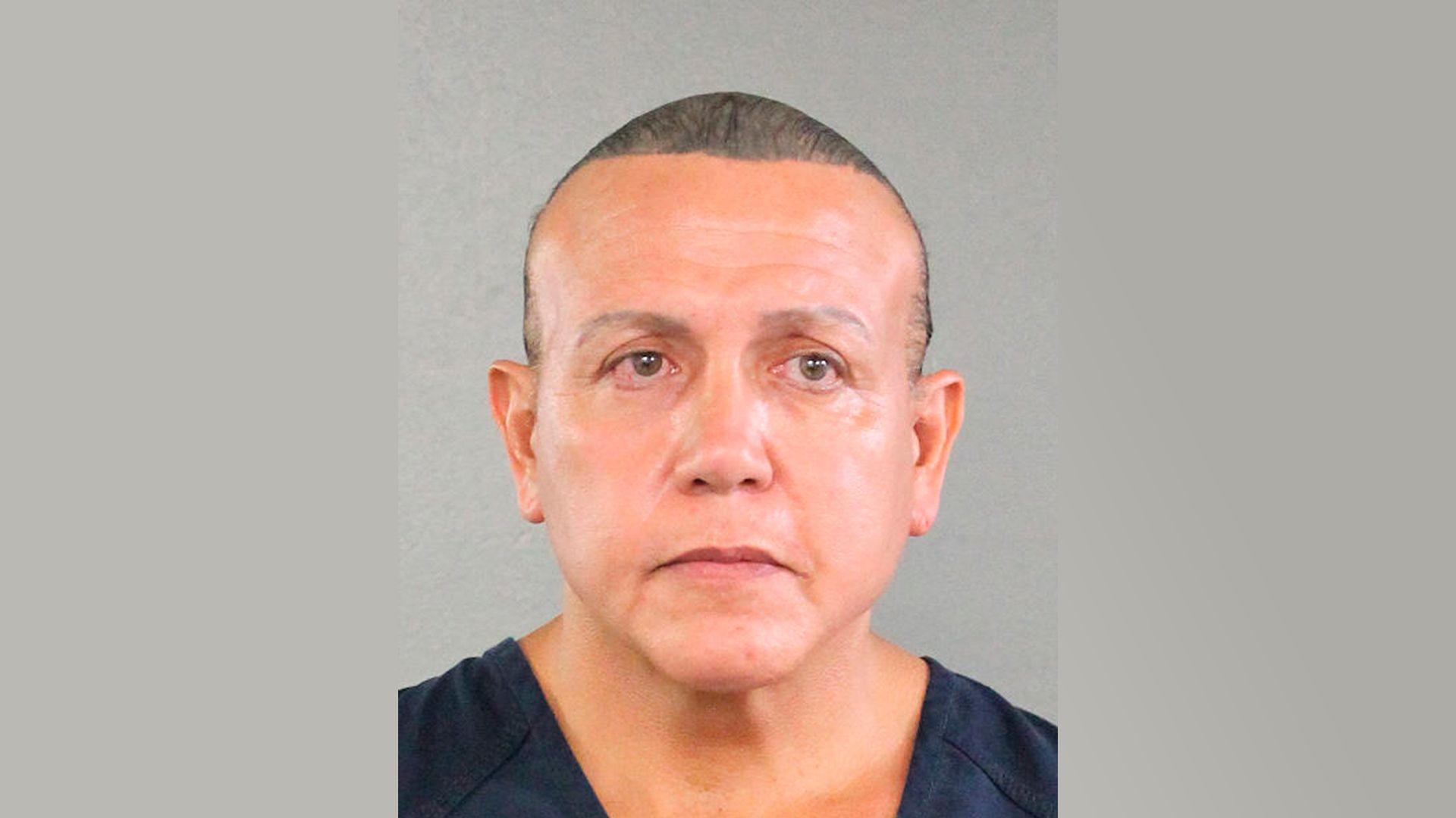 Cesar Sayoc's mugshot.