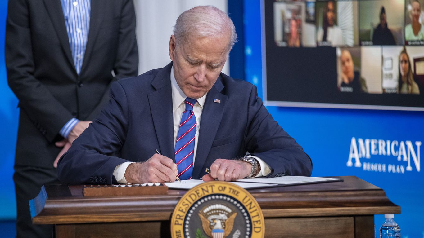 Dealmakers turn eyes to D.C. as Biden prepares to unveil corporate tax hike thumbnail