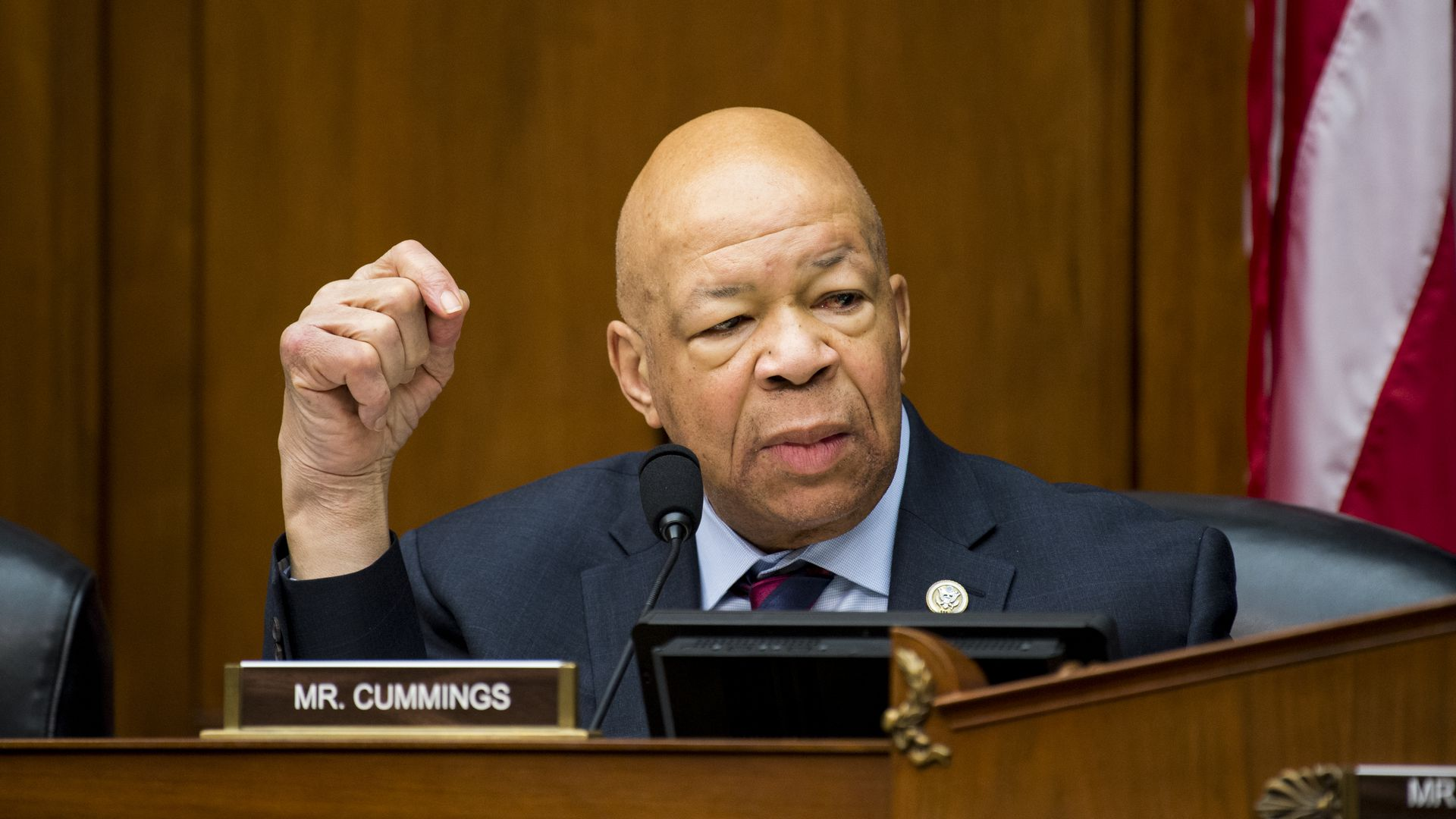 Rep. Elijah Cummings, (D-Md.), chair of the House Oversight and Government Reform Committee.