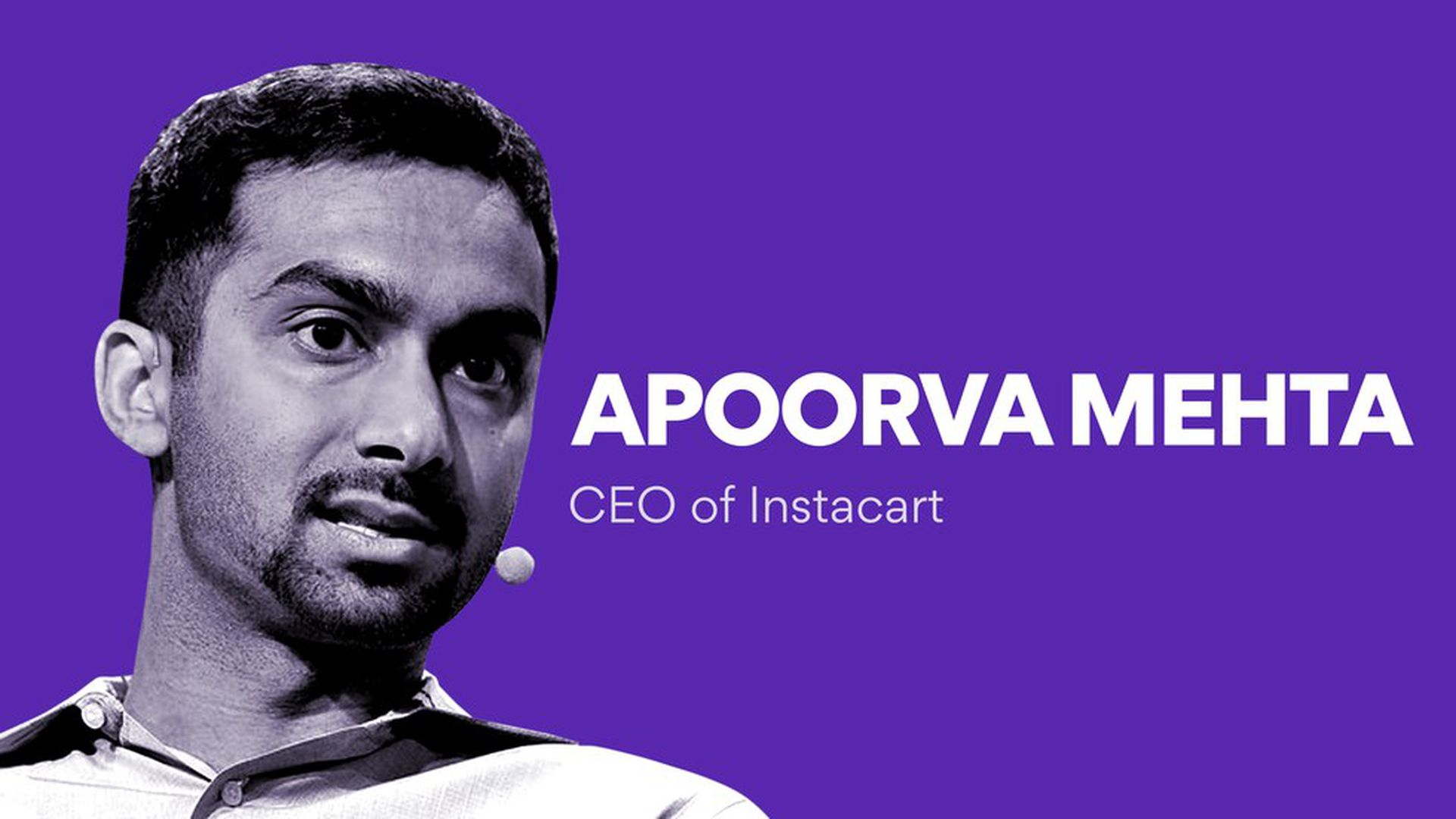 Instacart CEO talks about his $3 4 billion company - Axios
