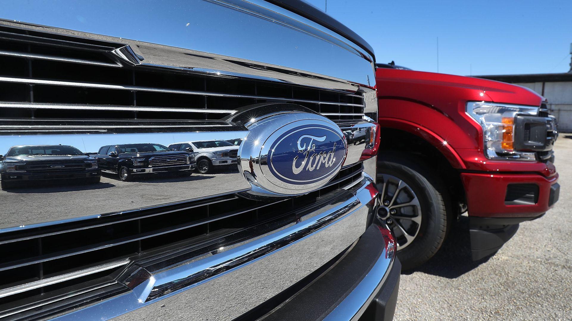 Ford trucks.