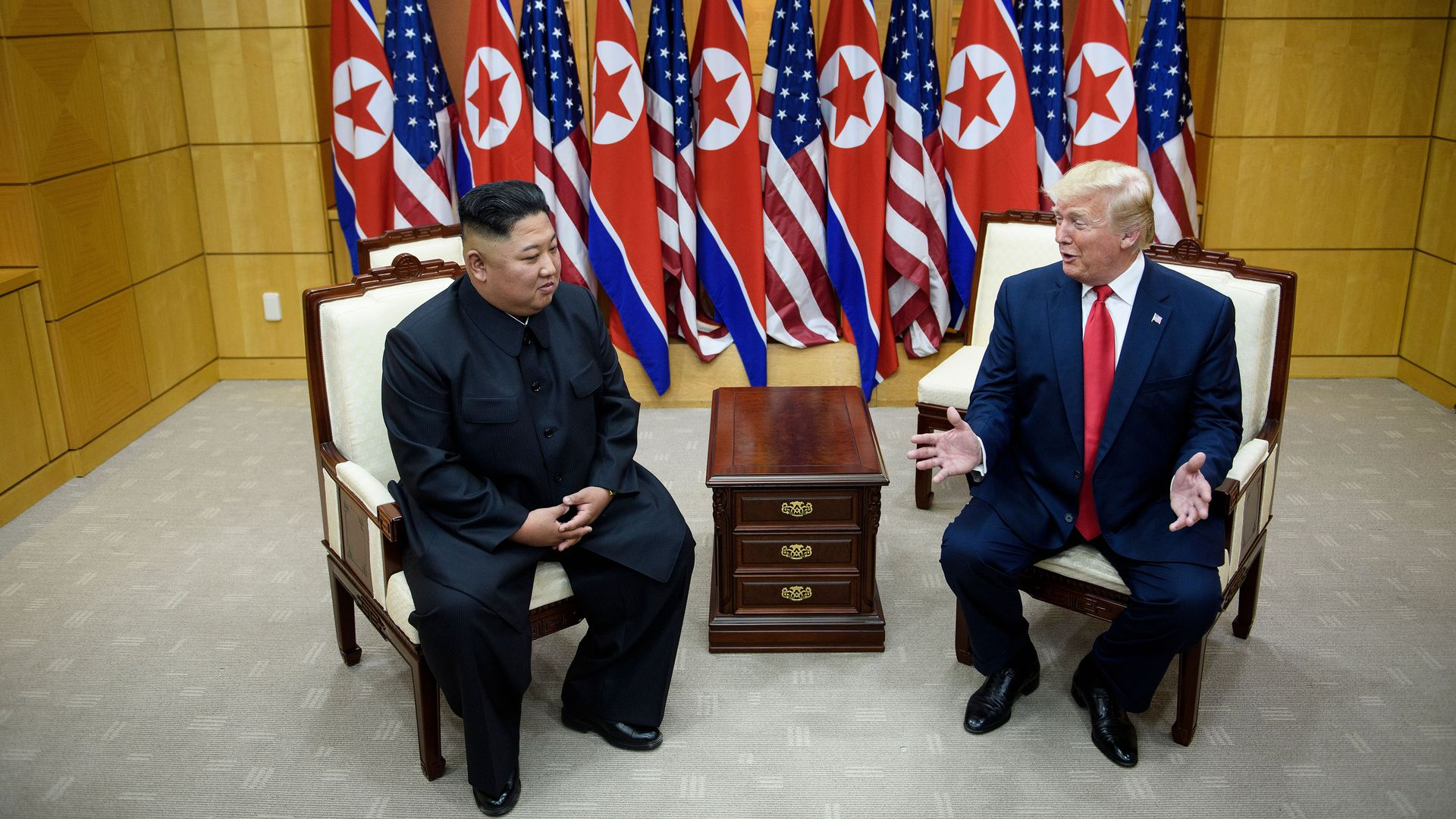 New book claims that Kim Jong-un views Trump as father figure