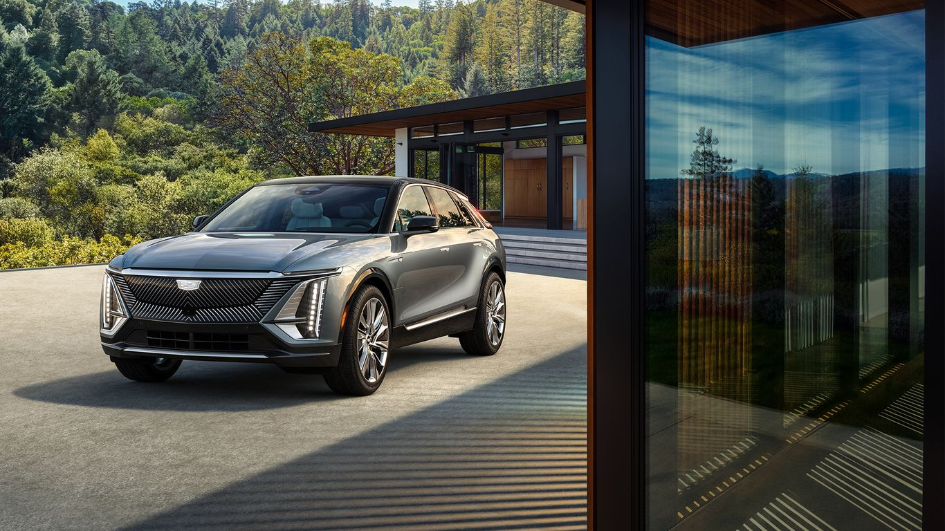 Cadillac's electric shift begins with launch of 2023 Lyriq SUV thumbnail