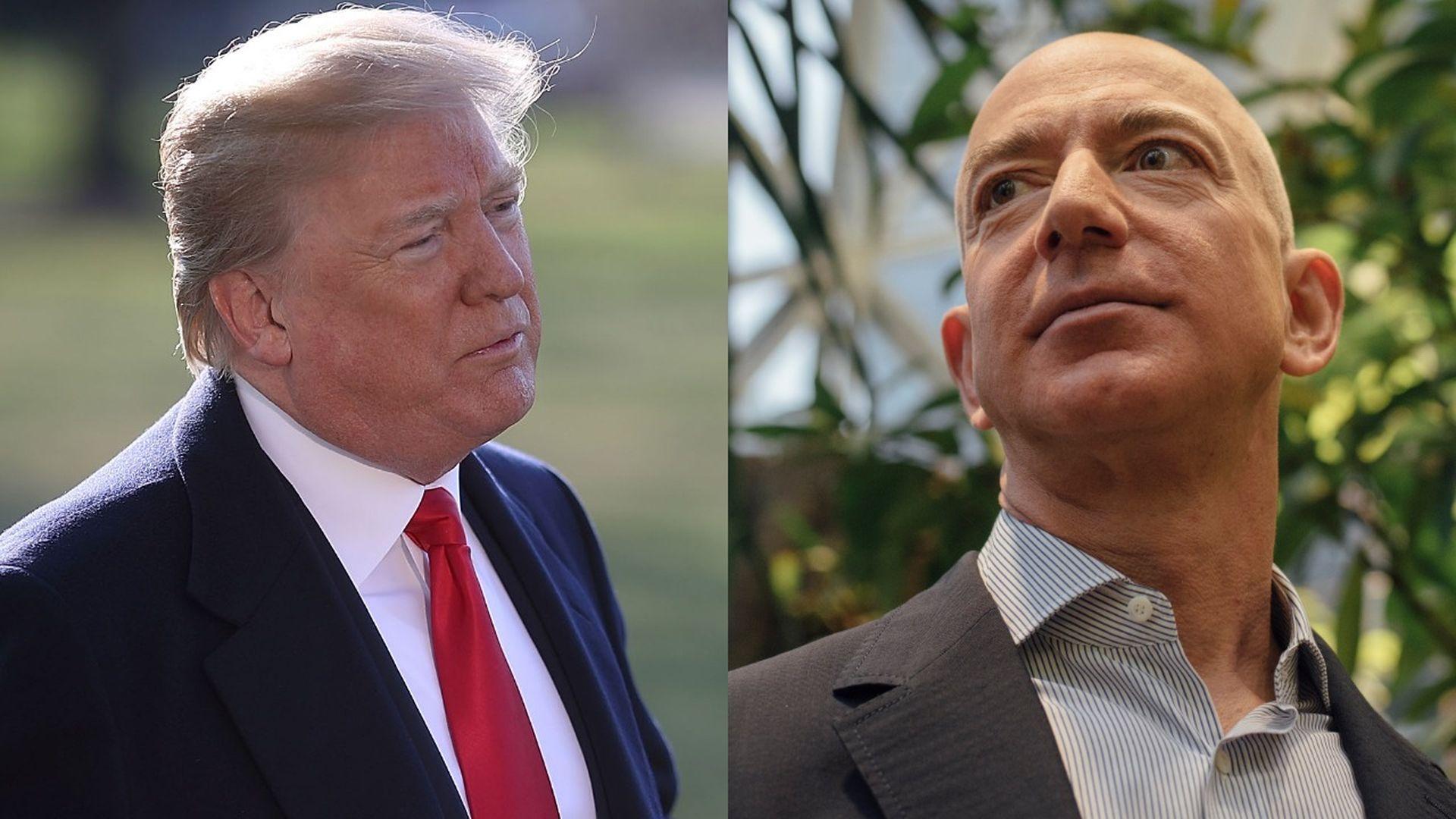 Trump hates Amazon, not Facebook - Axios