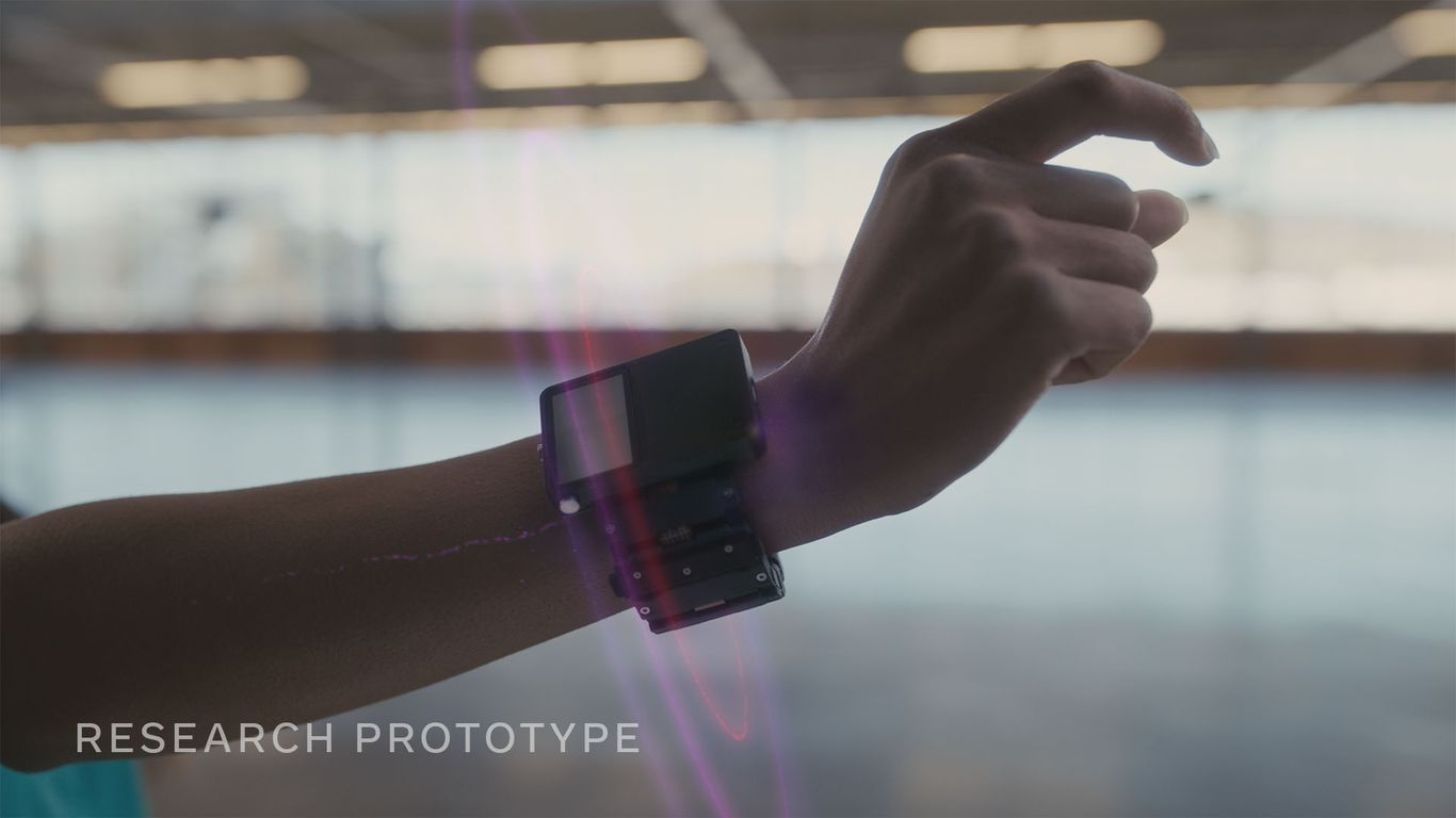Facebook sees computing's future on your wrist thumbnail