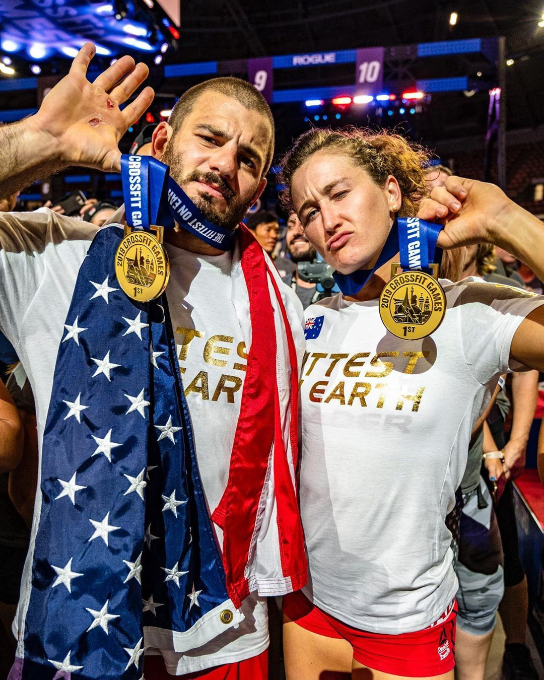 CrossFit Games winners, Mat Fraser and Tia-Clair Toomey