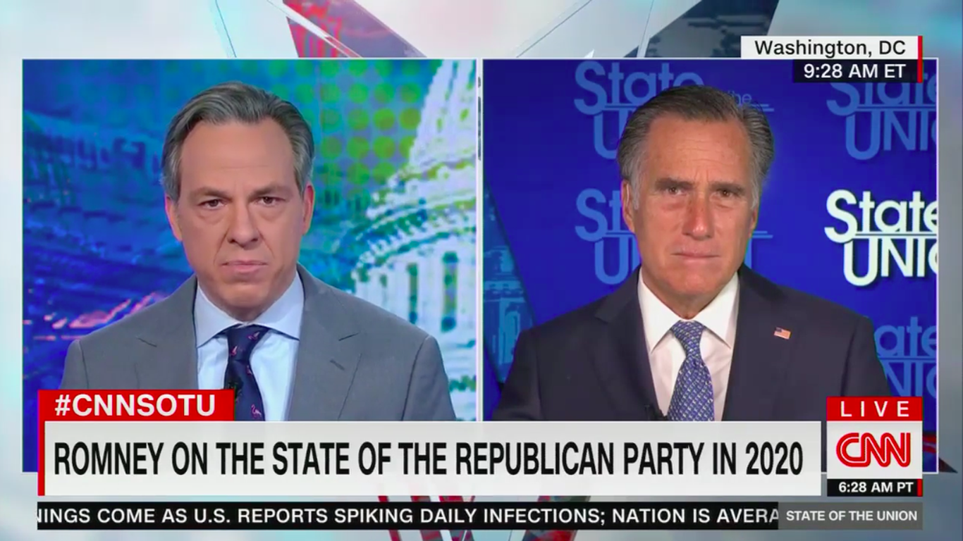 "Mitt Romney: GOP has ""strayed"" from core values thumbnail"