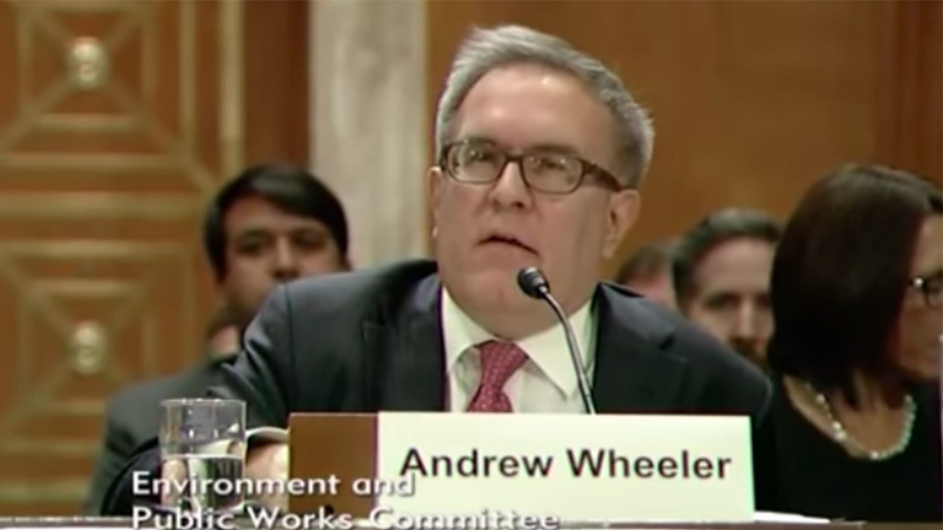Andrew Wheeler, EPA acting head