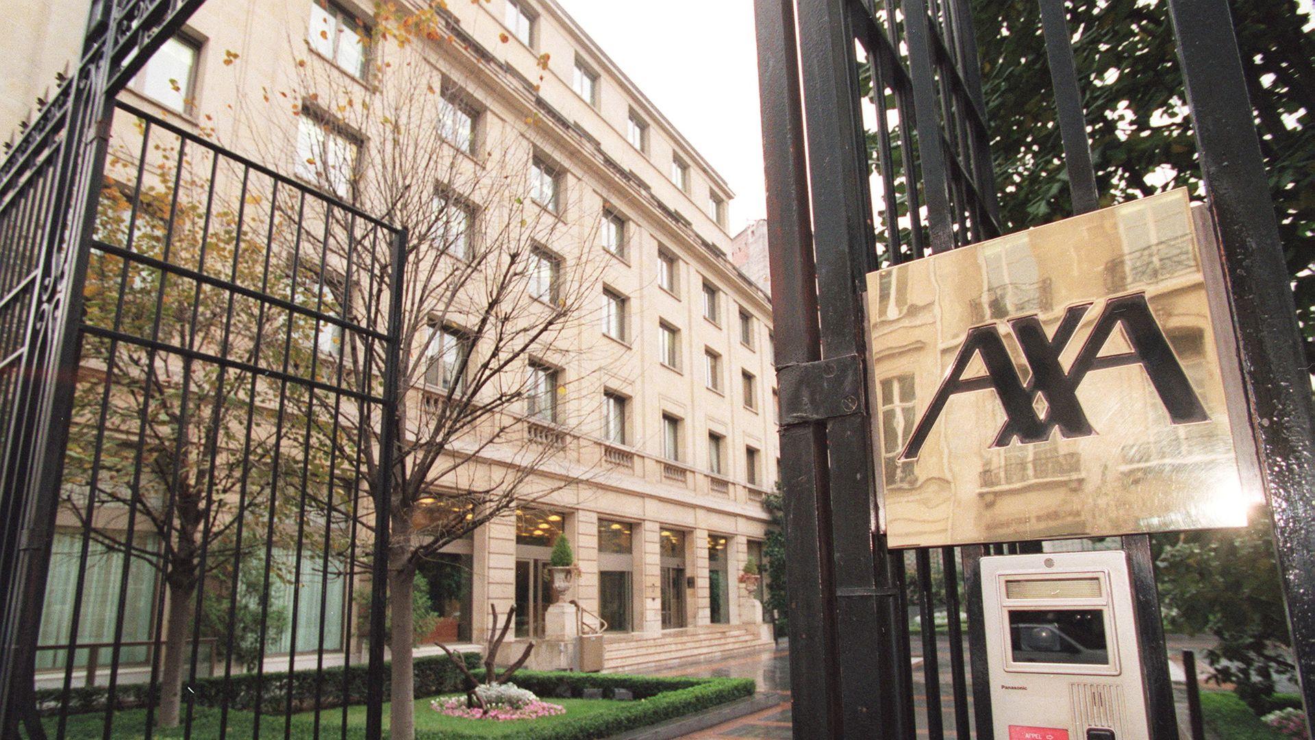 AXA offices in Paris