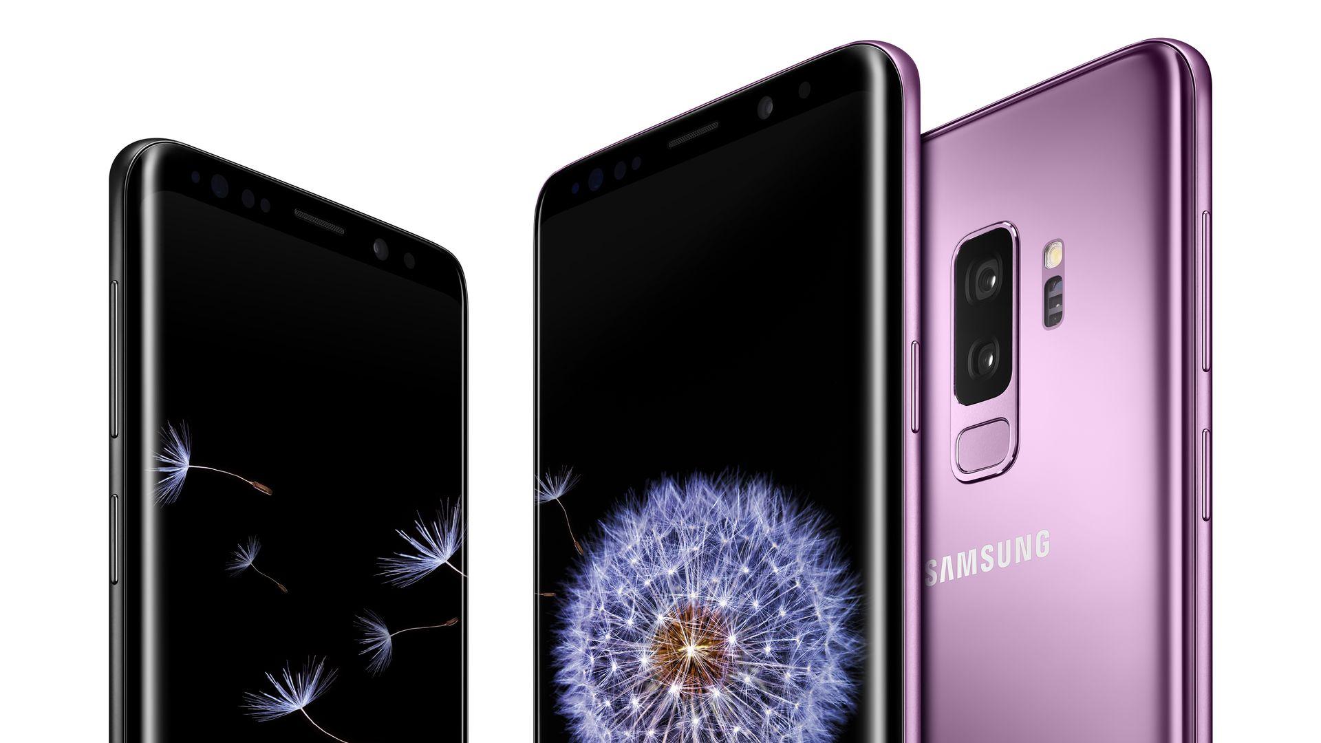 Galaxy S9 lineup