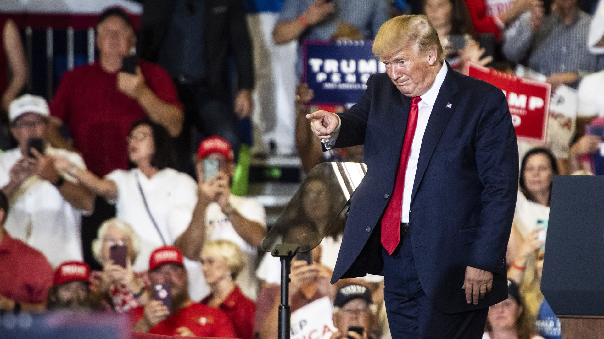 Report: Trump re-election PAC plans to track smartphone data to find non-registered voters
