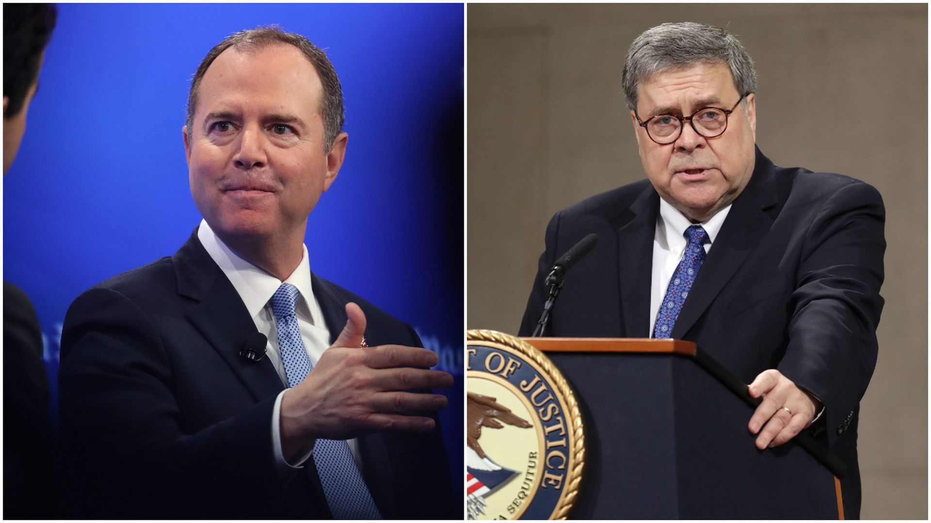 Image result for IMAGES OF BARR ADAM SCHIFF