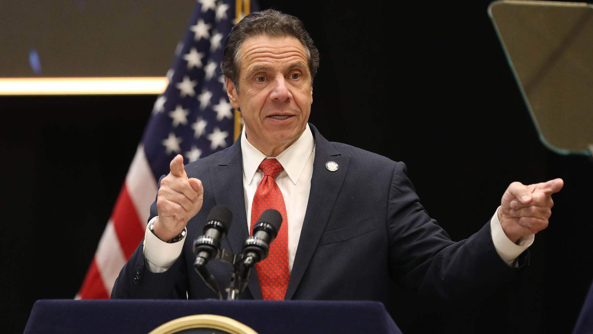 New York Gov. Andrew Cuomo. Photo: John Paraskevas/Newsday via Getty Images
