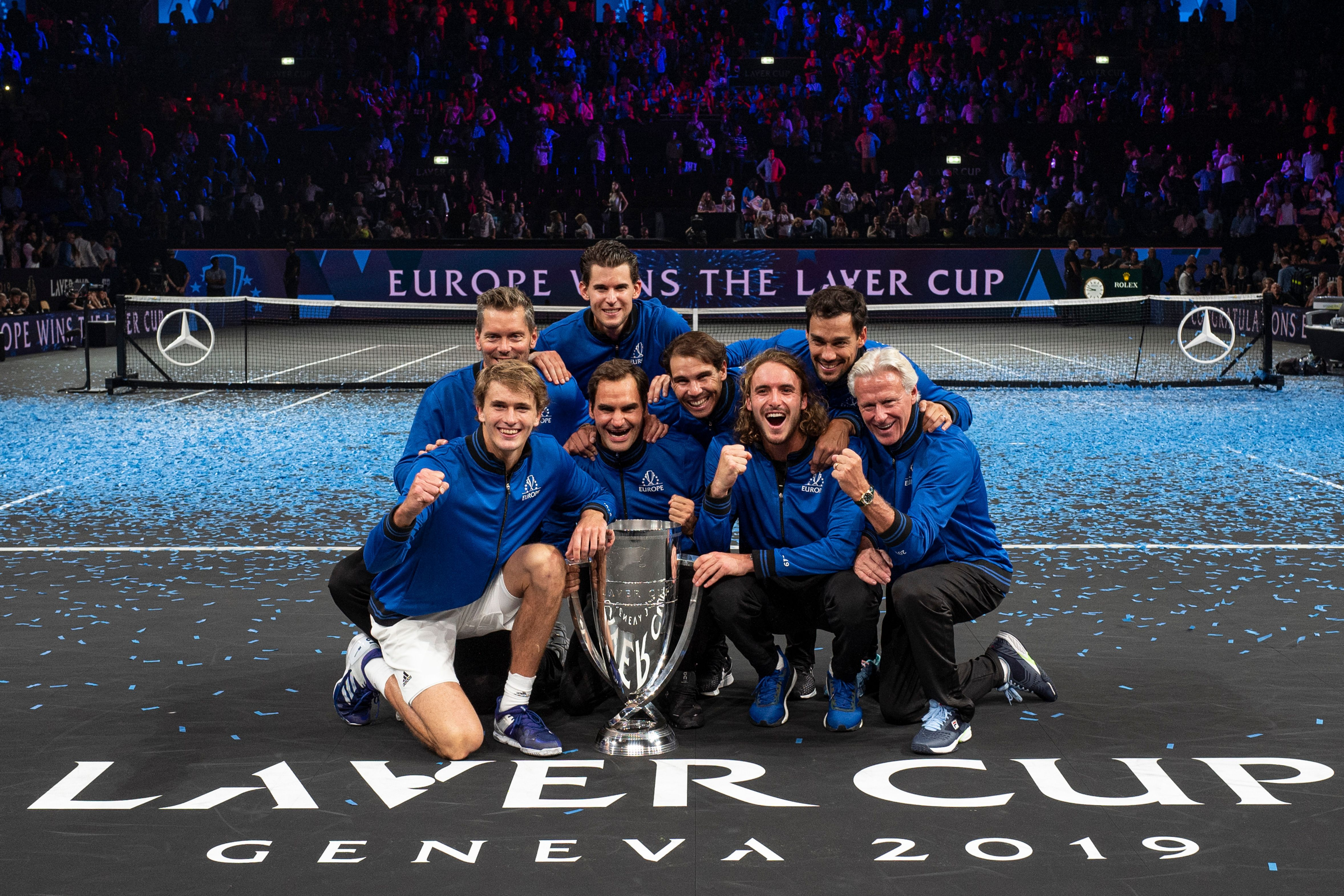 Team Europe at the Laver Cup