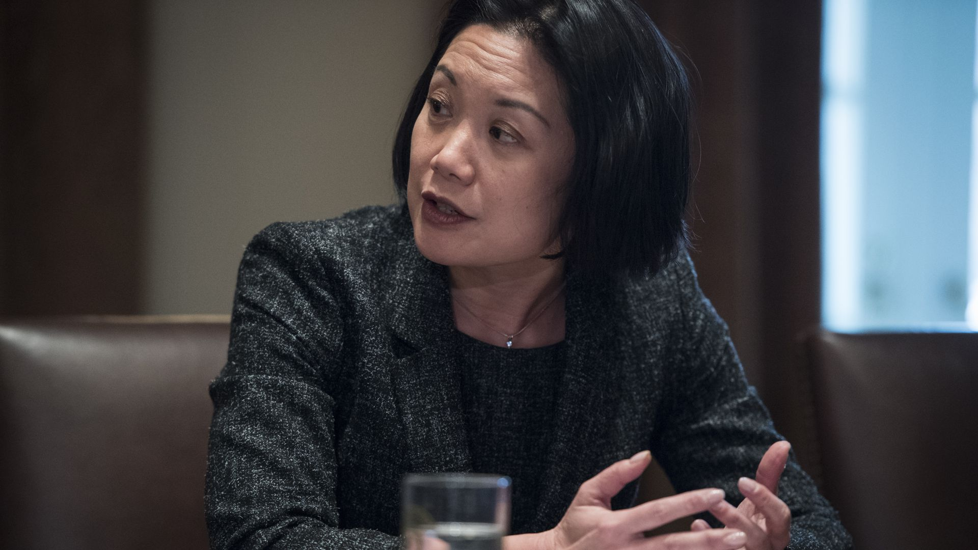 U.S. attorney general for the District of Columbia, Jessie Liu.