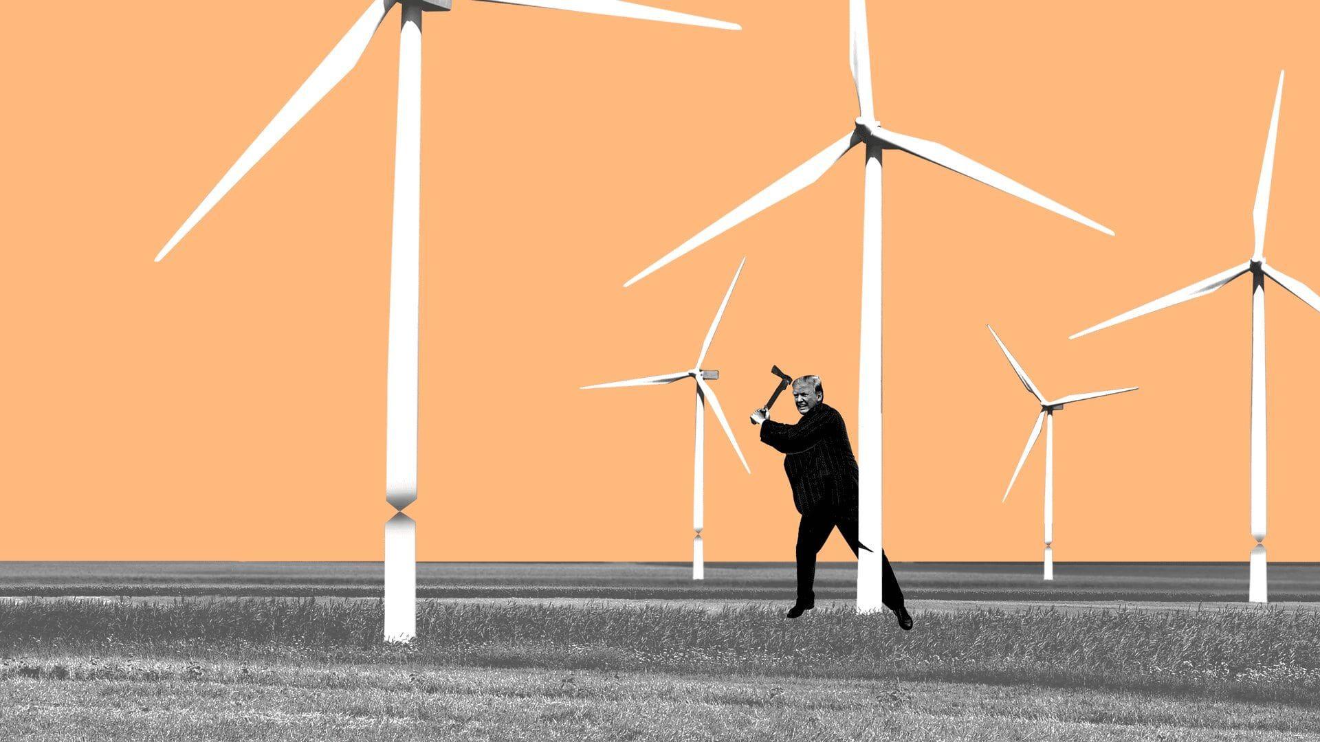 Trump's budget undercuts congressional GOP's climate innovation push - Axios