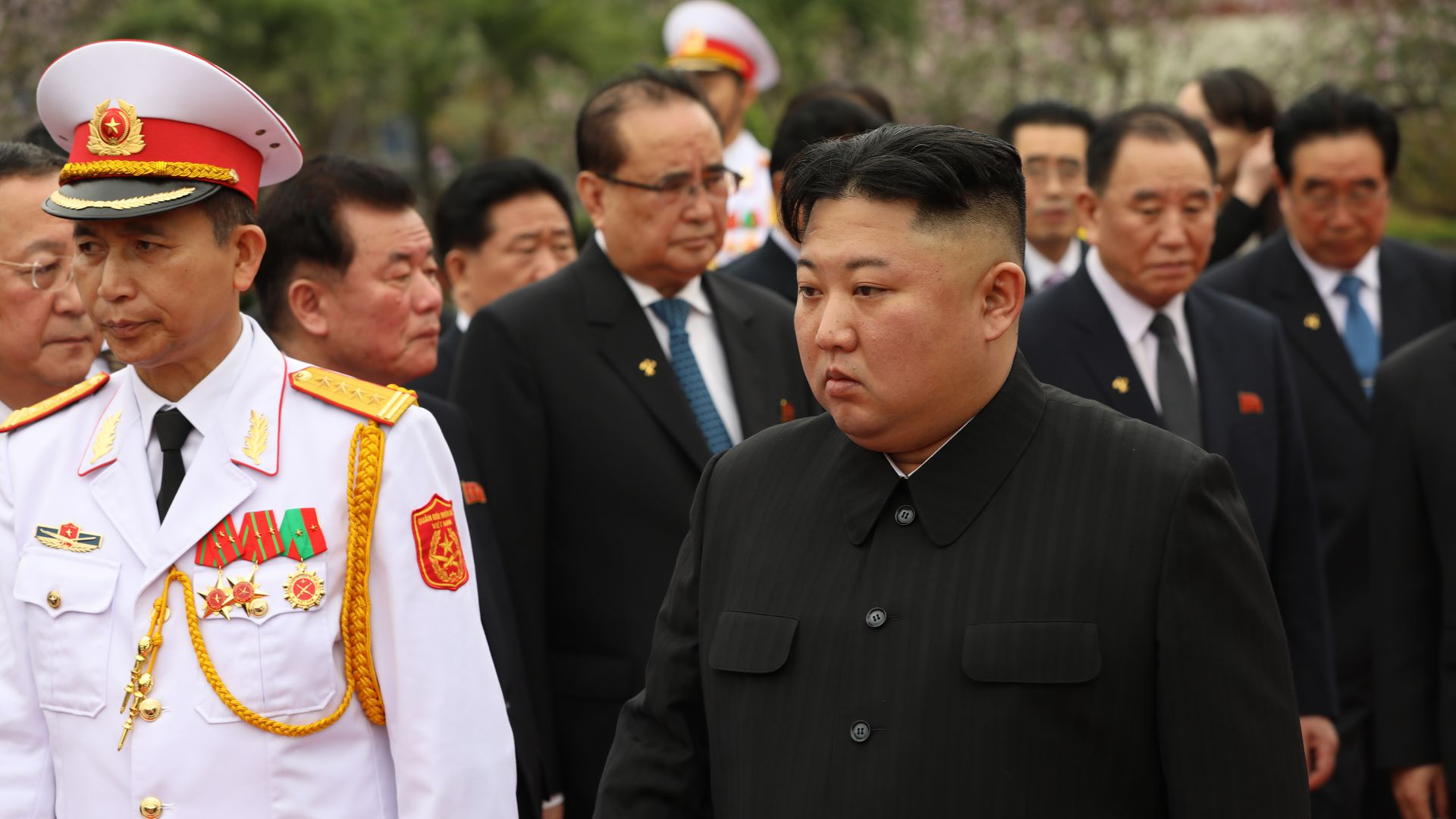 North Korea's Kim Jong Un