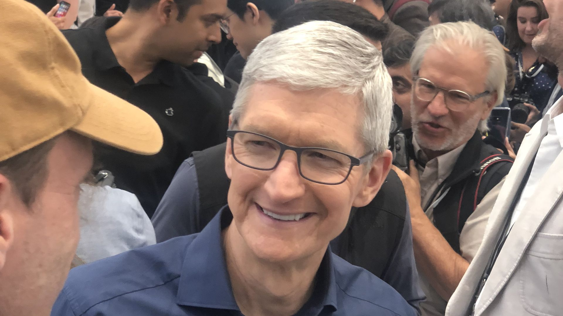 Tim Cook at Apple's Sept. 2018 product launch