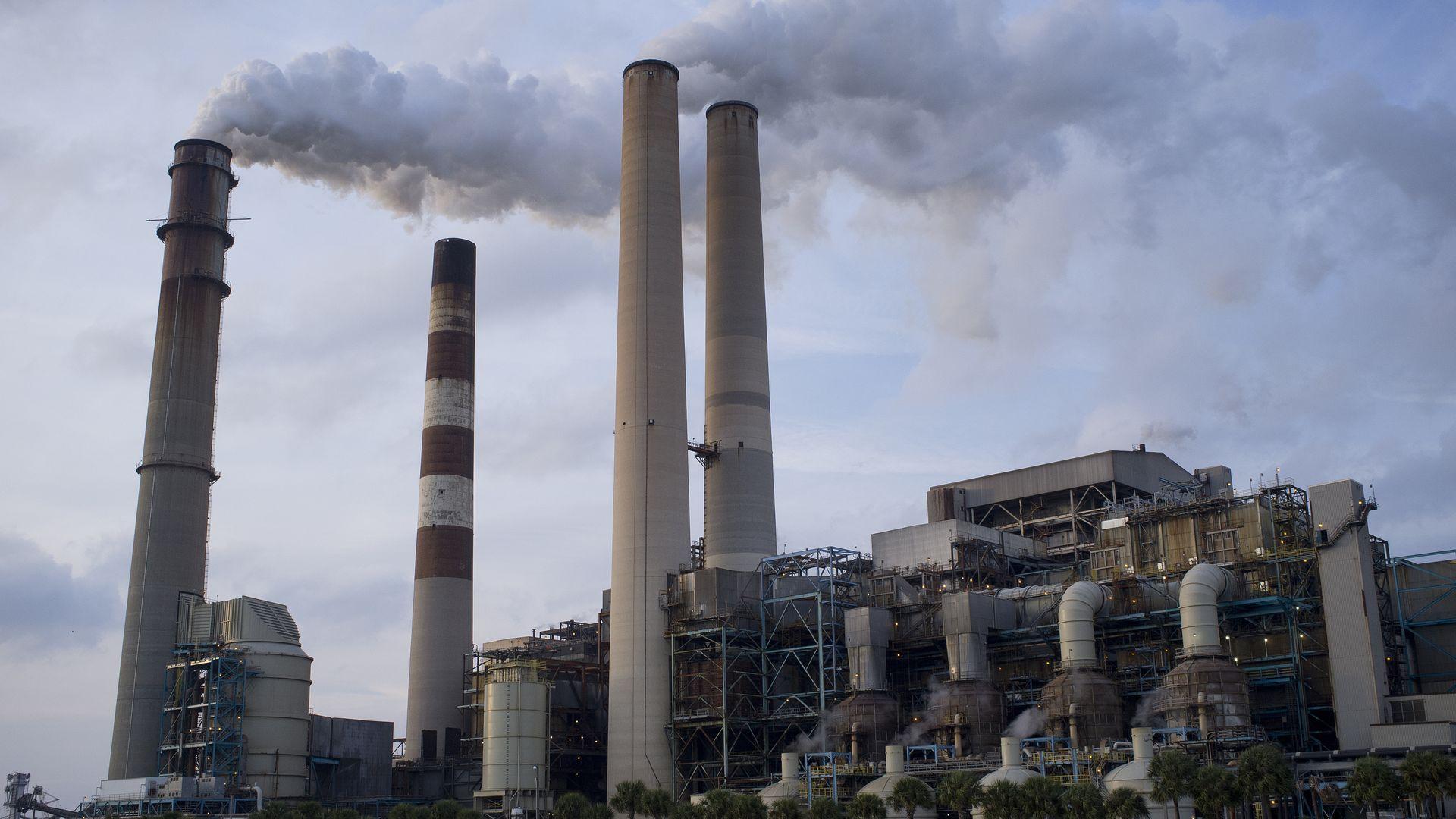 Coal plant Florida