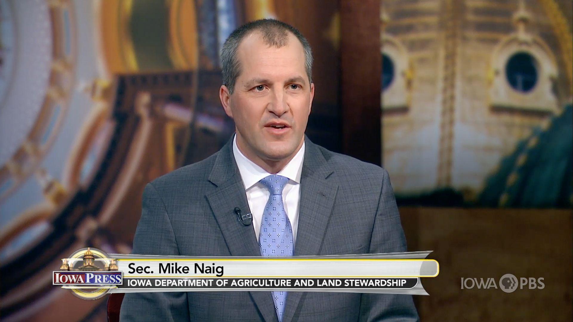 Iowa Secretary of Agriculture Mike Naig