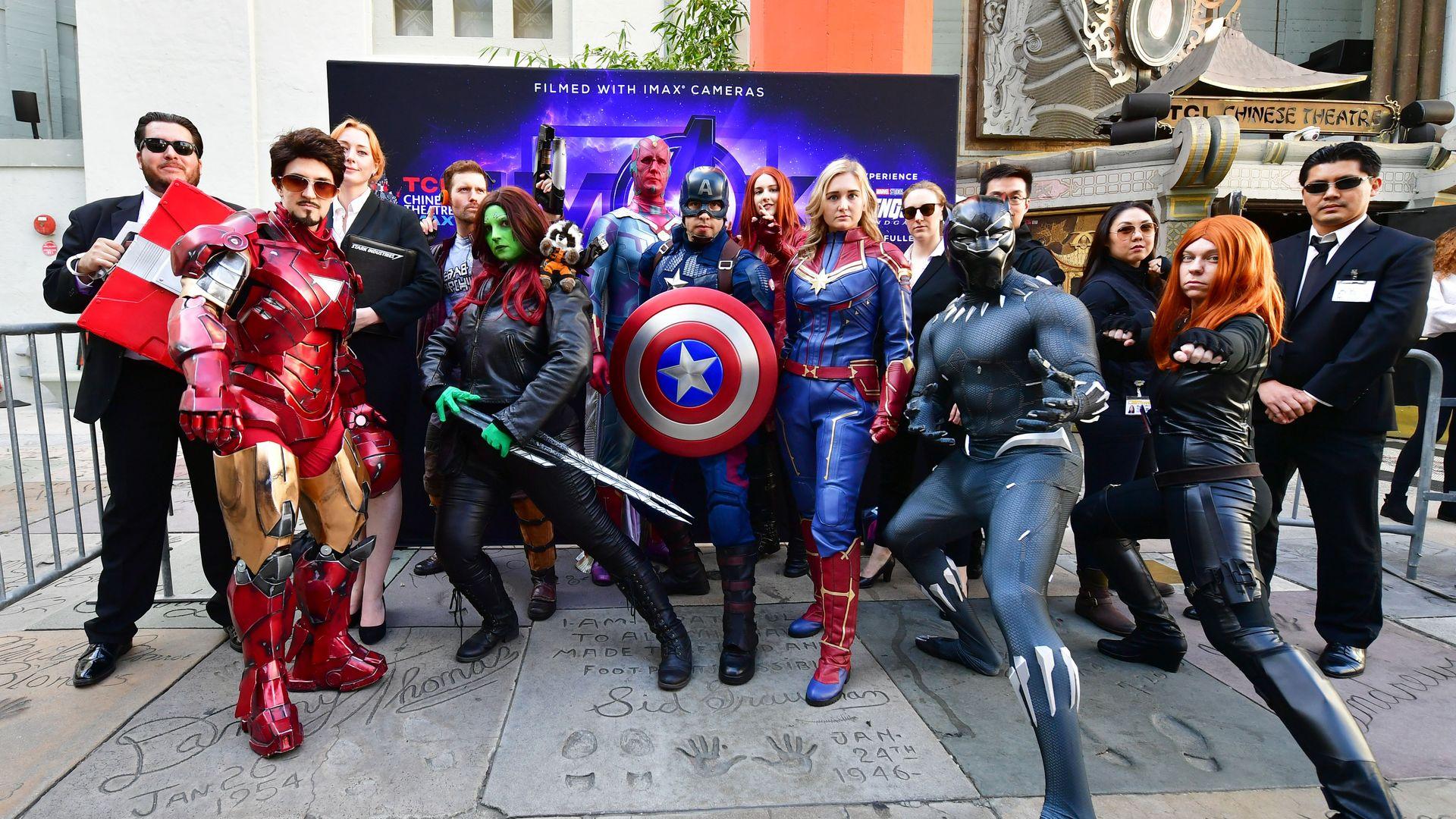 3. 1 Avengers thing