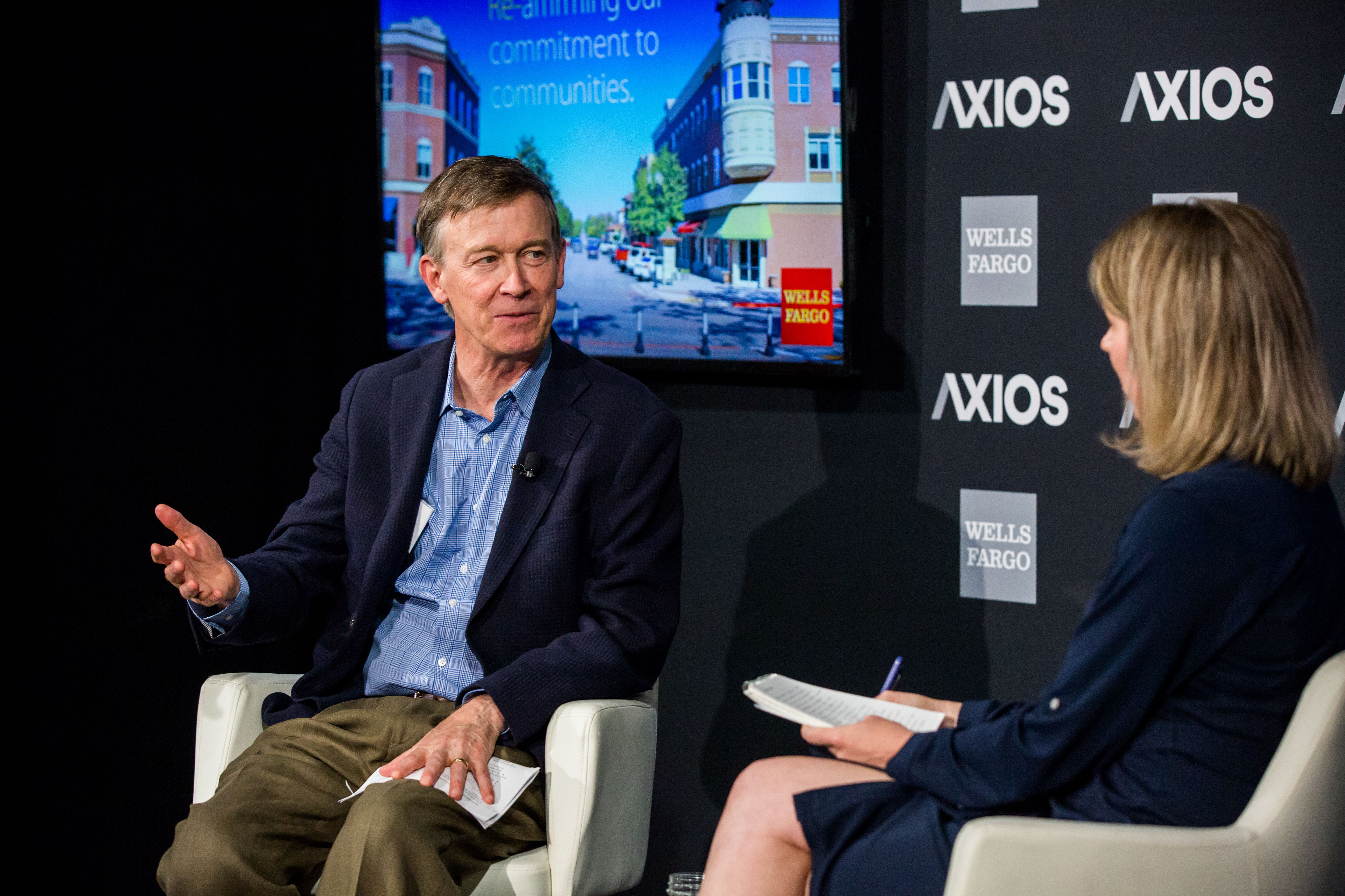 Governor Hickenlooper discusses the importance of homegrown talent.