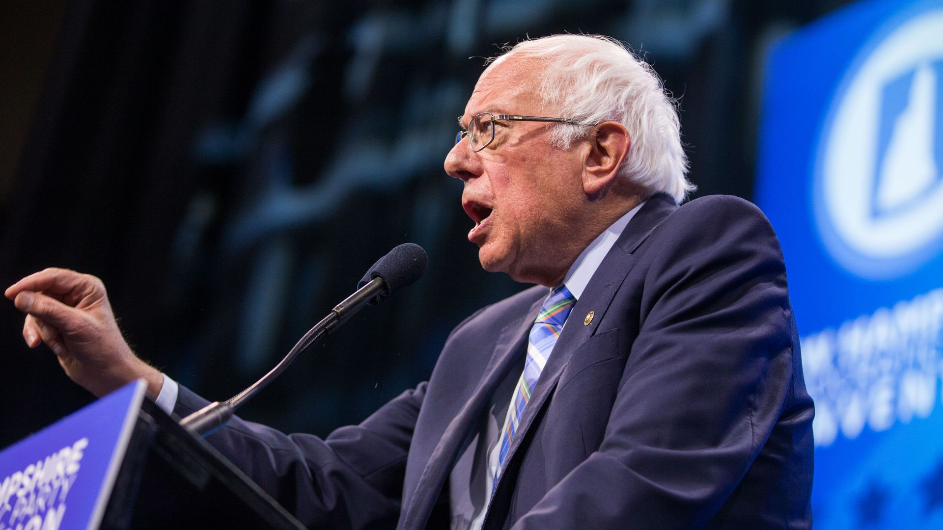 Bernie Sanders becomes first candidate to reach 1 million individual donors