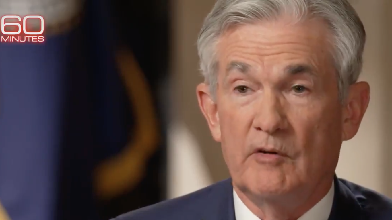 """Fed Chair Jerome Powell says U.S. economy is at an """"inflection point"""" thumbnail"""