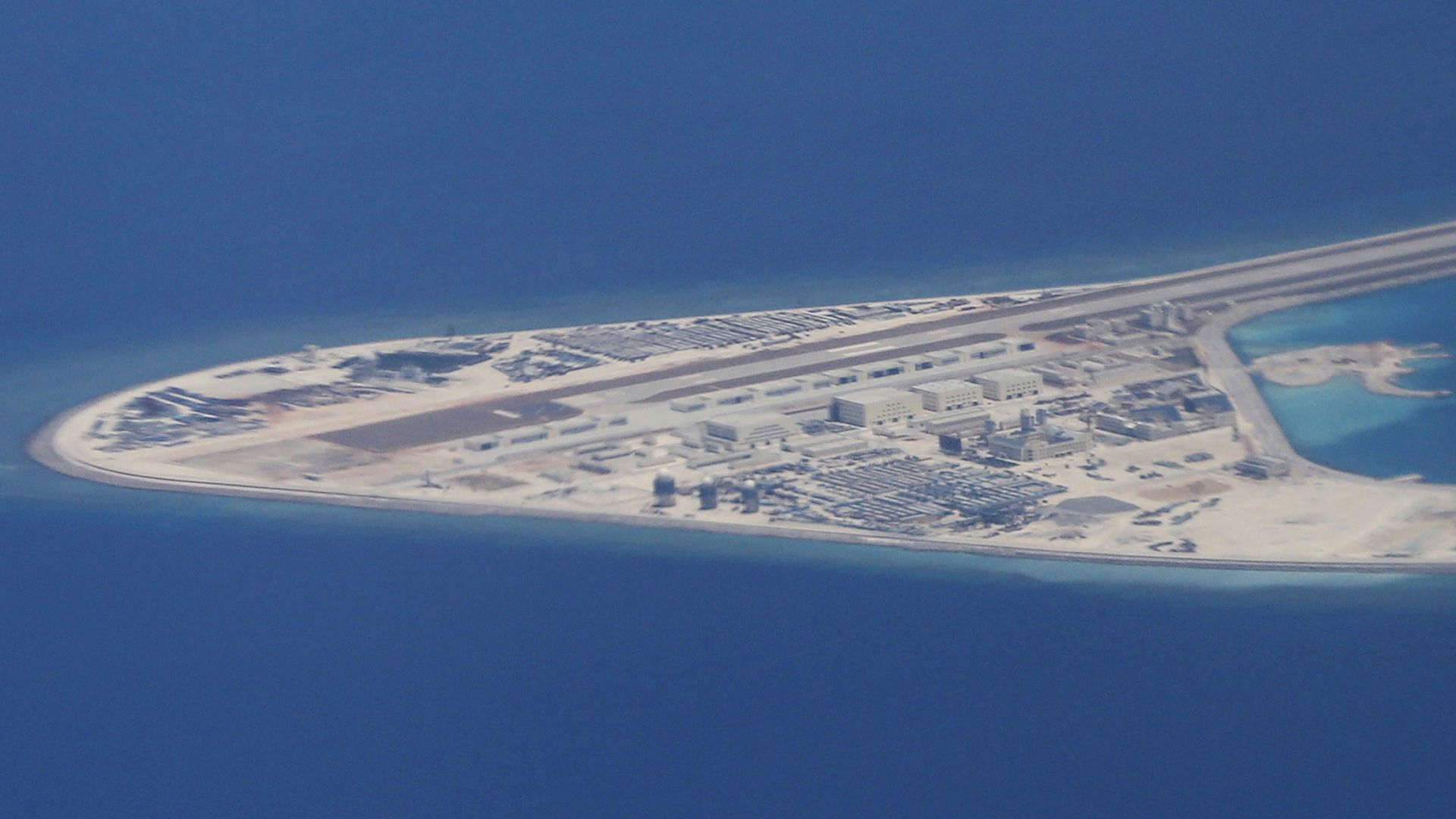 China's man-made Subi Reef