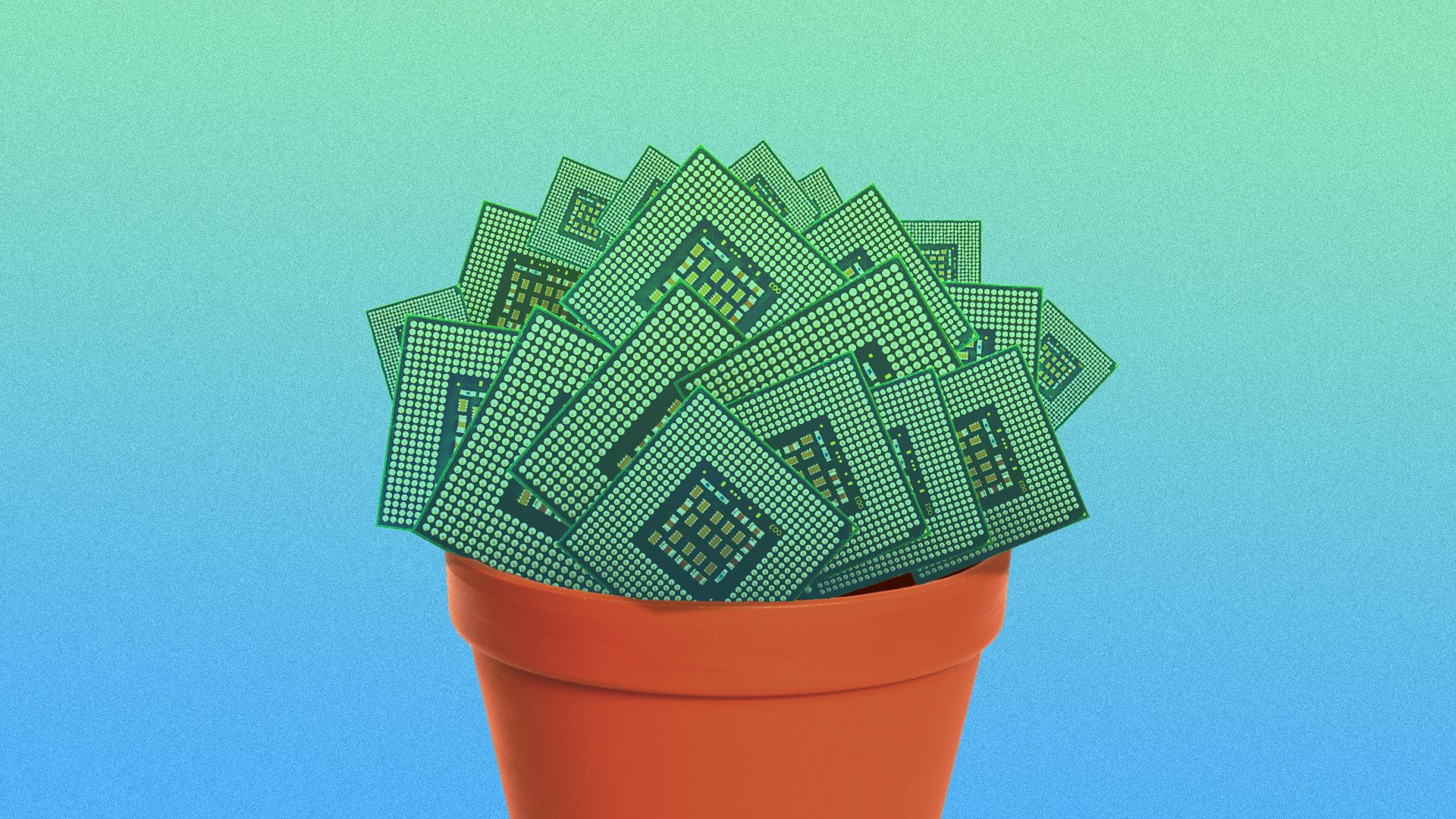 Illustration for story about National Grid's venture capital arm