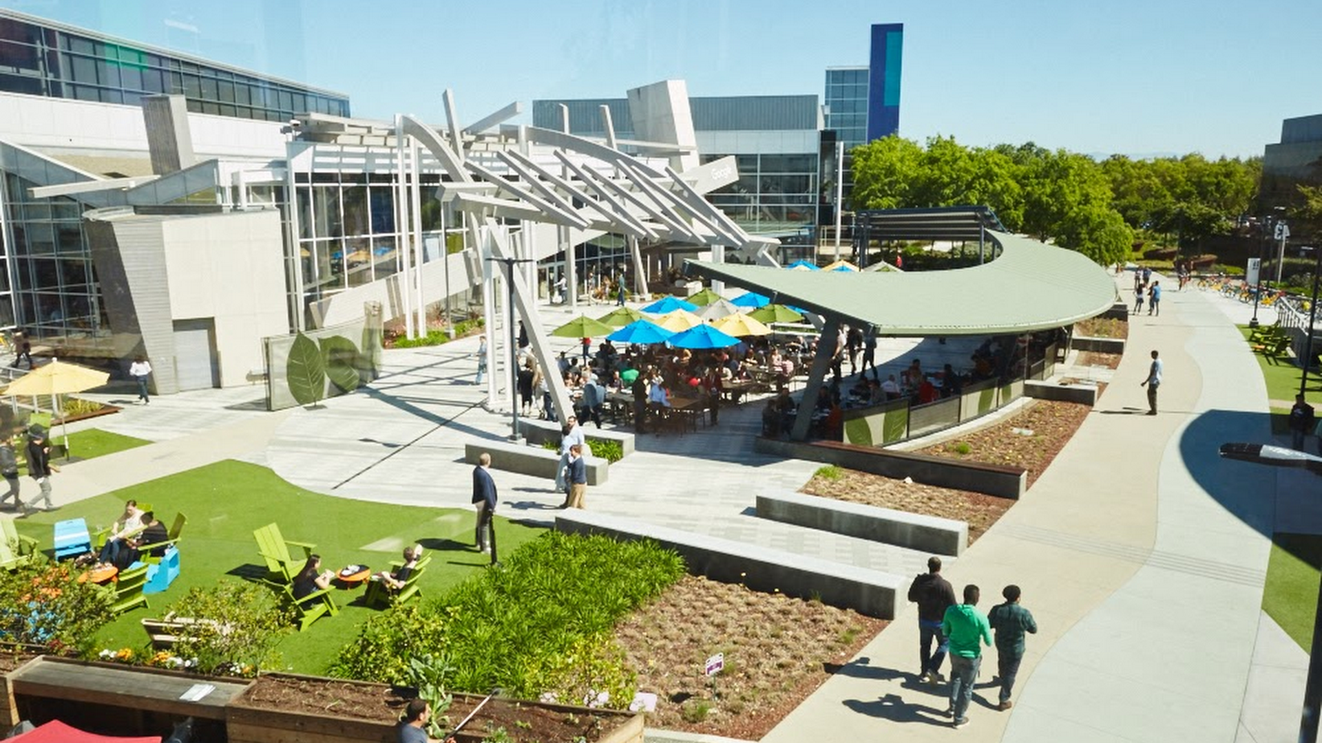 Google's Mountain View, Calif. headquarters.