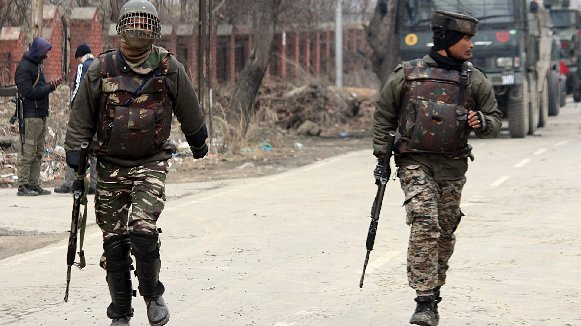 India said it launched air strikes on a suspected terrorist training camp inside Pakistan.