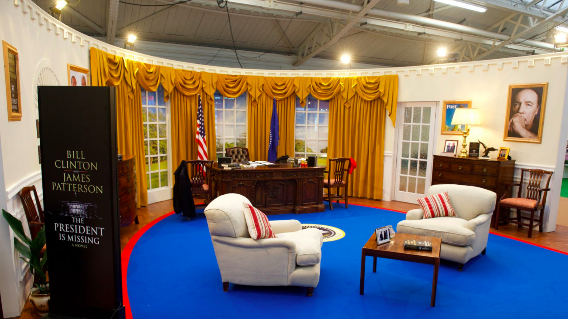 The Oval Office, re-created