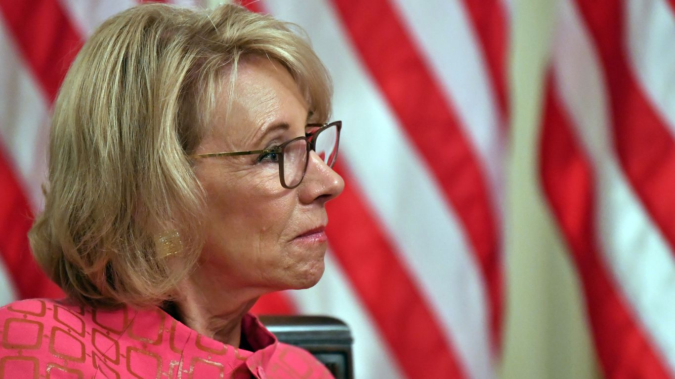 DeVos extends federal student loan relief to Jan. 31