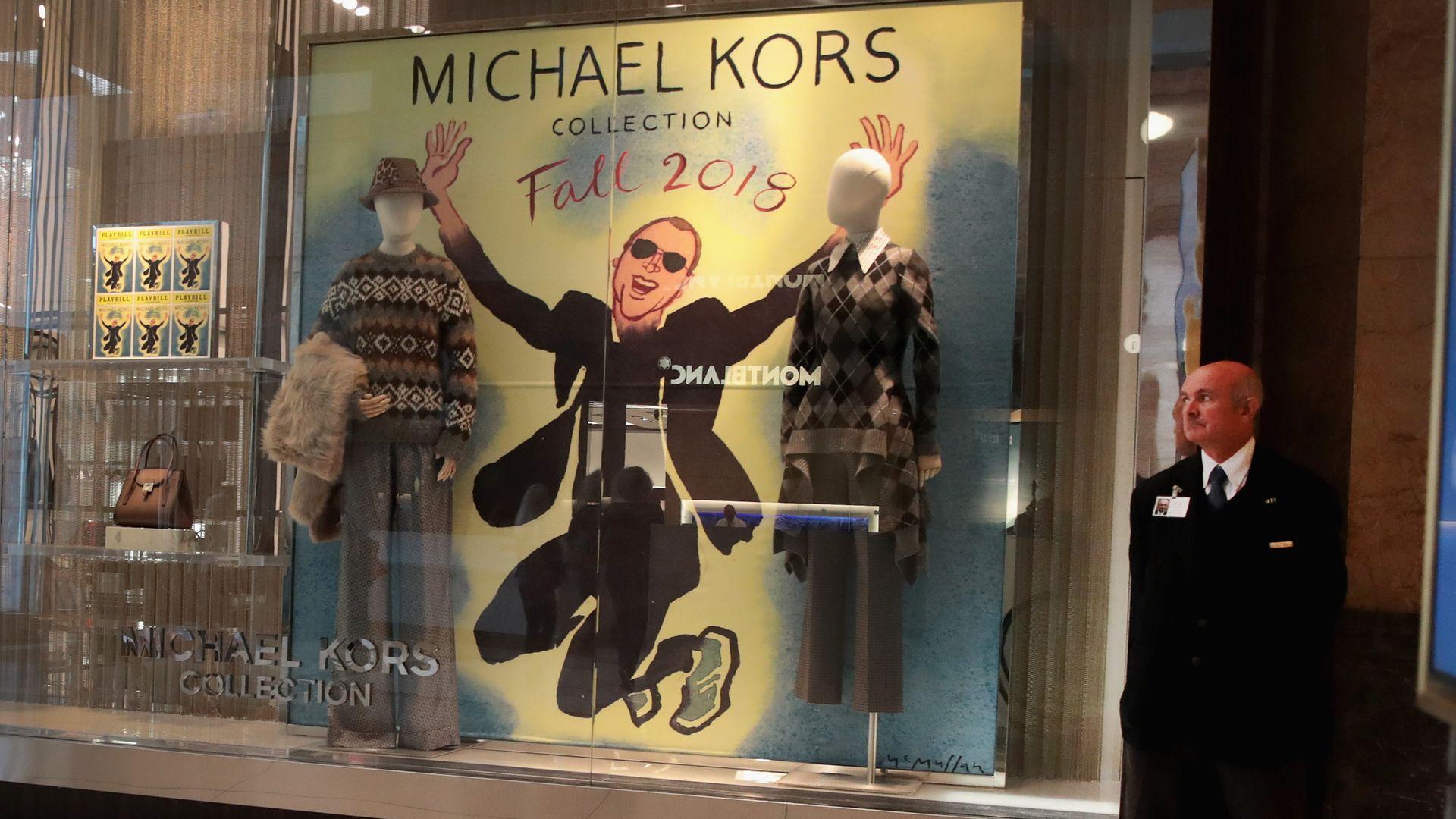 b495d2e82da5 Michael Kors announces  2.1 billion Versace deal and a new name - Axios